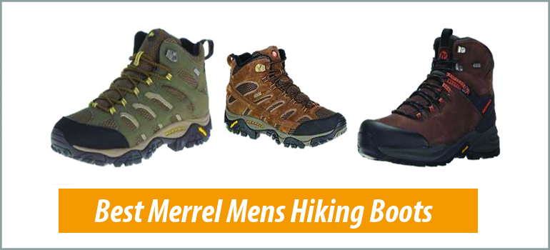Best Merrel Mens Hiking Boots